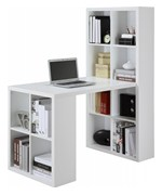 Hollow Core Hobby Desk - Bookcase