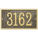 Home Address Plaque - Rectangle - Fast and Easy