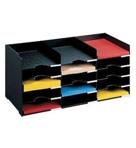 Horizontal Desk Organizer - 15 Compartments Image