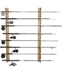 Horizontal Fishing Rod Storage Rack