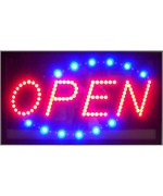 Horizontal Open LED Sign