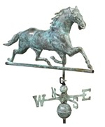 Horse Rooftop Weathervane