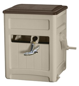 Hose Box - Hideaway with Bin Image