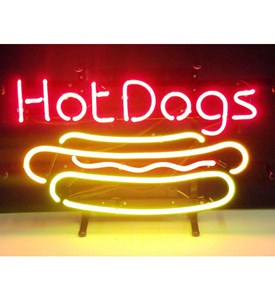 Hot Dog Neon Sign by Neonetics Image