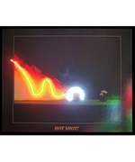 Hot Shot Neon LED Art Picture by Neonetics
