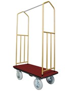 Hotel Luggage Cart - Brass