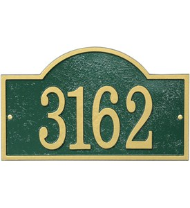 House Number Sign - Arch - Fast and Easy Image