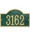 House Number Sign - Arch - Fast and Easy
