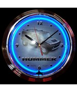 Hummer Neon Clock by Neonetics
