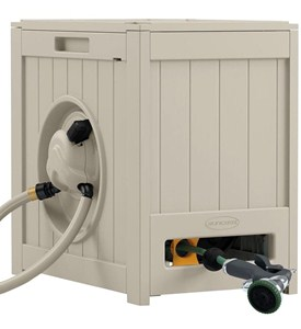 Hydro Power Auto Rewind Hose Reel - Taupe Image