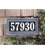 Address Plaque - Illuminated