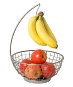 Industrial Fruit Bowl with Banana Hook