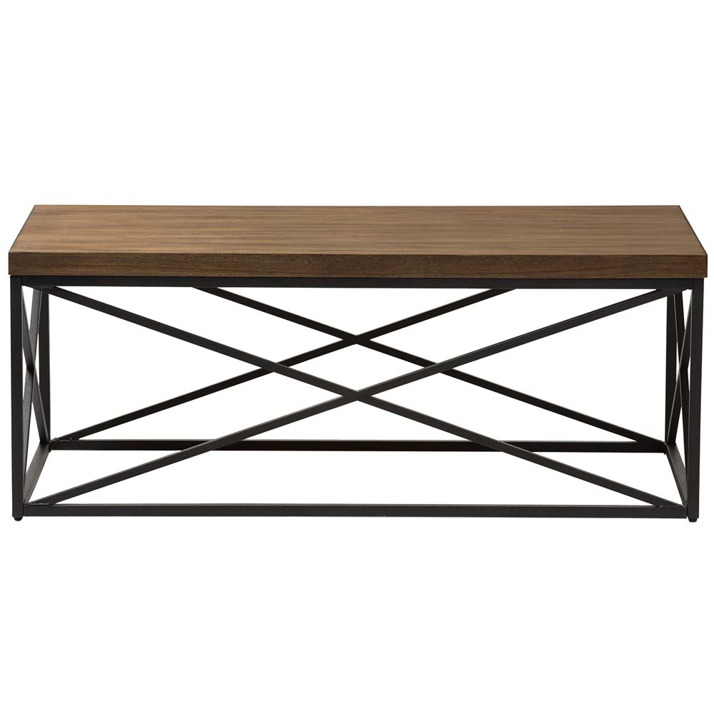 Industrial Rectangular Coffee Table In Coffee Tables