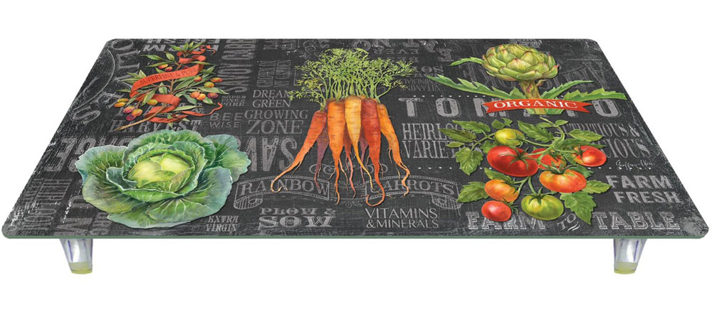Instant Counter Top Cover : Instant counter chalkboard veggies in stove top accessories