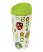 Insulated Travel Mug - Owls