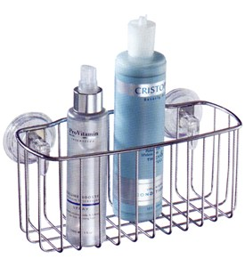 Powerlock Suction Shower Basket Image