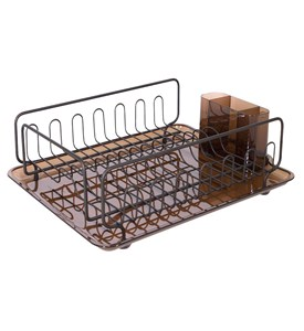 InterDesign Dish Drainer Rack - Bronze Image