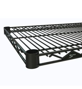 InterMetro Commercial Shelf - 18 Inch Black Image