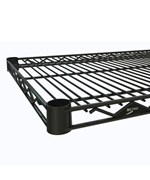 InterMetro Commercial Shelf - 18 Inch Black