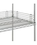 InterMetro Shelf Railing - Polished Chrome