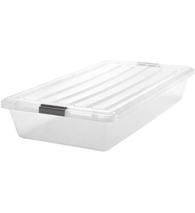Iris Clear Underbed Storage Container Image
