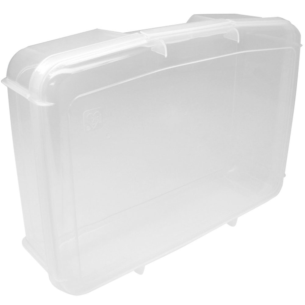 Iris Snap Top Plastic Storage Case   Small