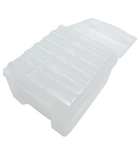 Plastic Photo Storage Box Image