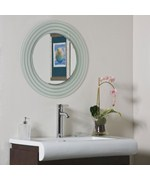Isabella Modern Wall Mirror by Decor Wonderland
