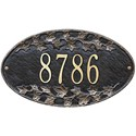 Ivy Oval Home Address Plaque