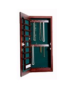 Small Wall Mounted Jewelry Cabinet - Magnetic Lock