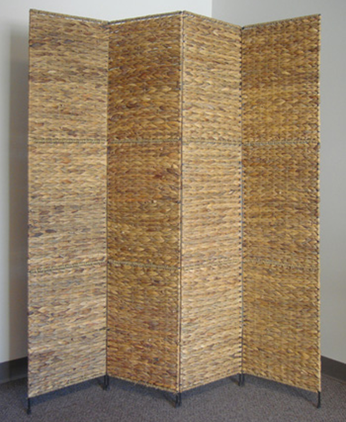 4panel wooden room divider by ore jakarta folding screen by proman products