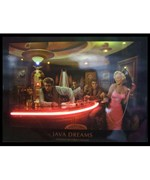 Java Dreams Neon LED Lighted Poster by Neonetics
