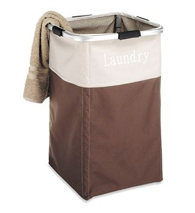 Labeled Laundry Hamper - Java Image