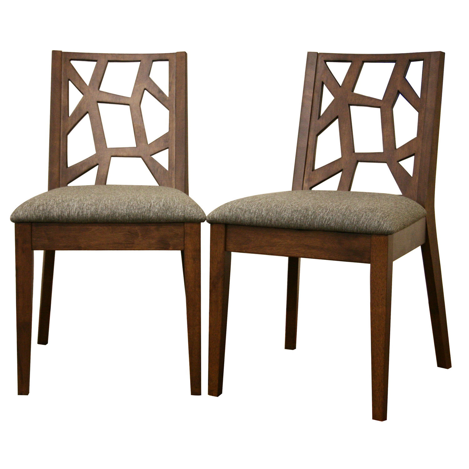 Modern Wooden Dining Chairs ~ Rubberwood dining chairs set of in