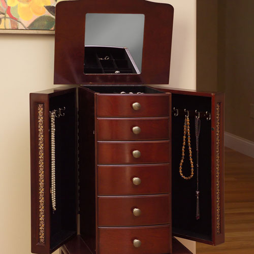 Jewelry Armoire In Home Decor