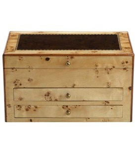 Jewelry Chest - Birds-Eye Maple Image