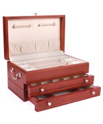 Jewelry Chest of Drawers - Cherry