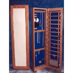 wall mounted jewelry armoire recessed in jewelry cabinets