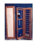 Wall Mounted Jewelry Armoire - Recessed