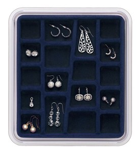 Jewelry Organizer - 18 Compartments Image