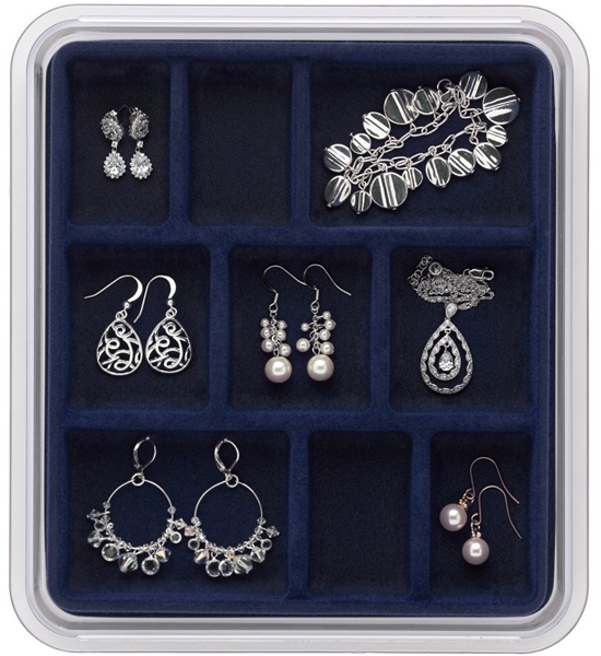 Jewelry Trays and Drawer Organizers at OrganizeIt