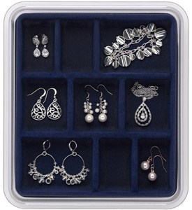 Jewelry Organizer - 9 Compartments Image