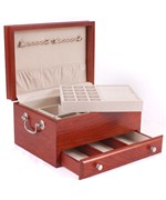 Jewelry Organizer Box with Drawer