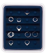 Jewelry Organizer - Rings and Hoop Earrings