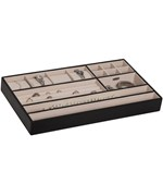 Jewelry Organizer Tray - Faux Leather