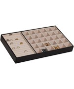 Jewelry Storage Tray - Faux Leather