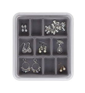 Jewelry Tray - Stax 9 Compartments Image