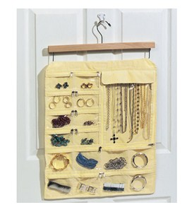 Hanging 35-Pocket Jewelry Keeper Image