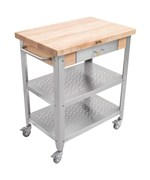 Mobile Kitchen Cart with Drawer
