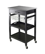 Julia Kitchen Utility Cart by Winsome